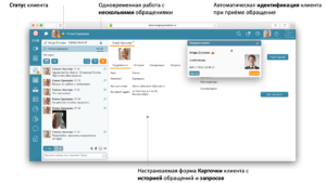 CRM Облачный Контакт Центр