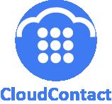 CloudContact logo dark